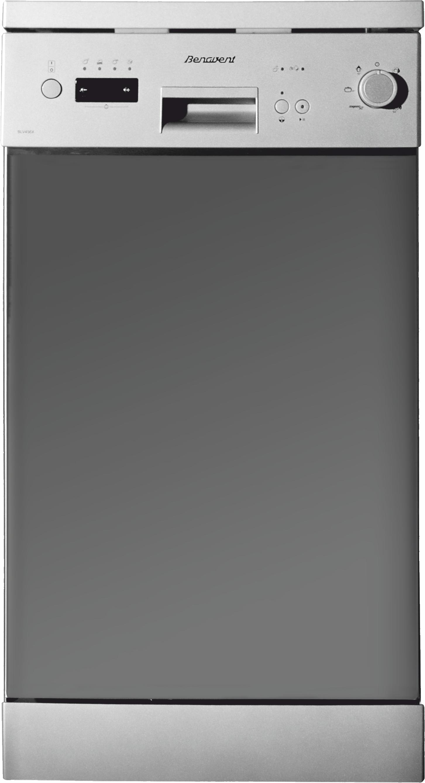 Lavavajillas benavent 45 cm blv 456 x a acero inox for Medidas lavavajillas 60